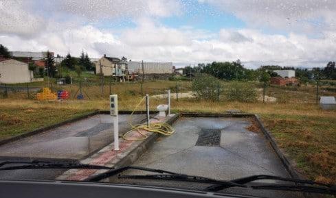 Área autocaravana en Agolada «Área de El Cordero Gallego» en, Pontevedra