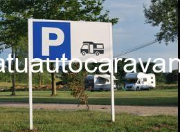 Área autocaravana en Bañugues «Área de El Molino» en, Asturias