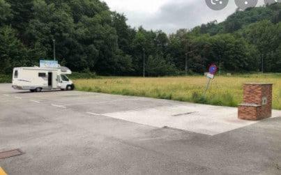 Área autocaravana en Langreo «Area del EcoMuseo de Samuño» en, Asturias