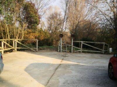 Área autocaravana en Miranda de Arga «Parking de Miranda de Arga» en, Navarra