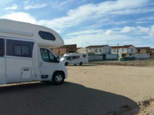 Área autocaravana en Santacara «Área de Santacara» en, Navarra