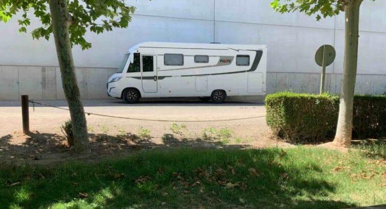 Área autocaravana en Fitero «Área de Fitero» en, Navarra