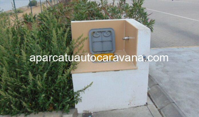 Área autocaravana en La Línea – Gibraltar «Parking de Alcaidesa Marina» en, Cádiz