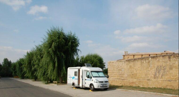 Área autocaravana en Casalarreina «Área de Casalarreina» en, La Rioja