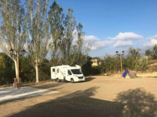 Área autocaravana en Sajazarra «Área de Sajazarra» en, La Rioja
