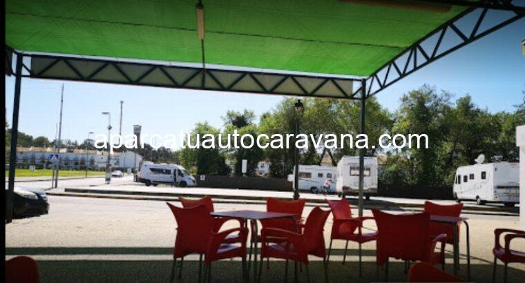 Área autocaravana en Castellar de la Frontera «Área de Castellar» en, Cádiz