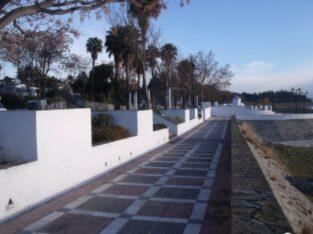 Área autocaravana en Bornos «Parking del Embarcadero» en, Cádiz