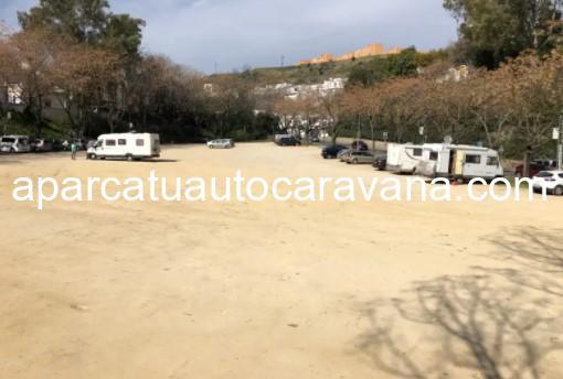 Área autocaravana en Arcos de la Frontera «Parking de Arcos» en, Cádiz