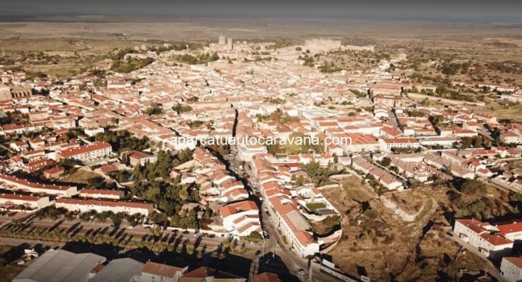 Área autocaravana en Trujillo «Área de Autocaravanas Turgalium» en, Cáceres
