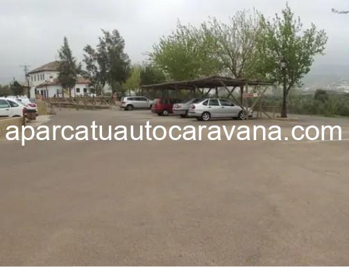 Área autocaravana en Puerto Serrano «Parking de la Antigua Estación» en, Cádiz