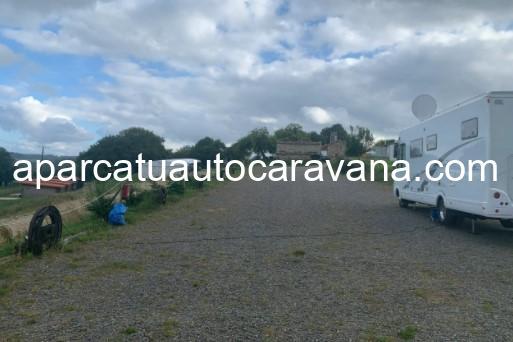Área autocaravana en Brandoñas «Área de Santa María de Brandoñas» en, A Coruña