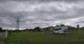 Área de autocaravanas en Sahechores de Rueda en Cubillas de Rueda León