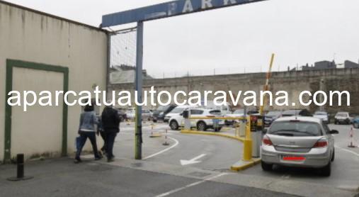 Área autocaravana en Lugo «Parking de Anxel Fole» en, Lugo