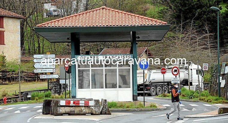 Área autocaravana en Dantxarinea «Área de Dantxarinea» en, Navarra