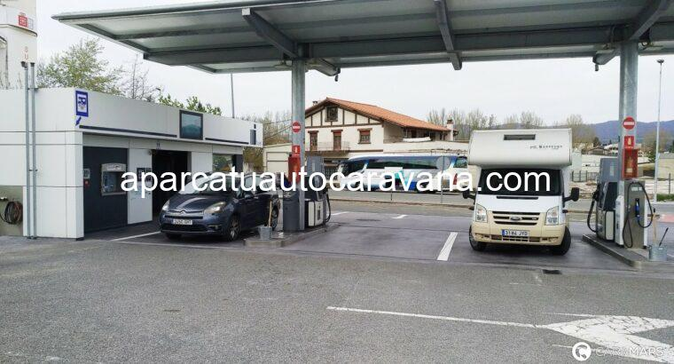 Área autocaravana en Alsasua «Área de Izelai Fuel» en, Navarra