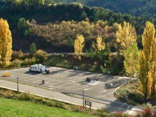 Área autocaravana en Aísa «Área de Aísa» en, Huesca