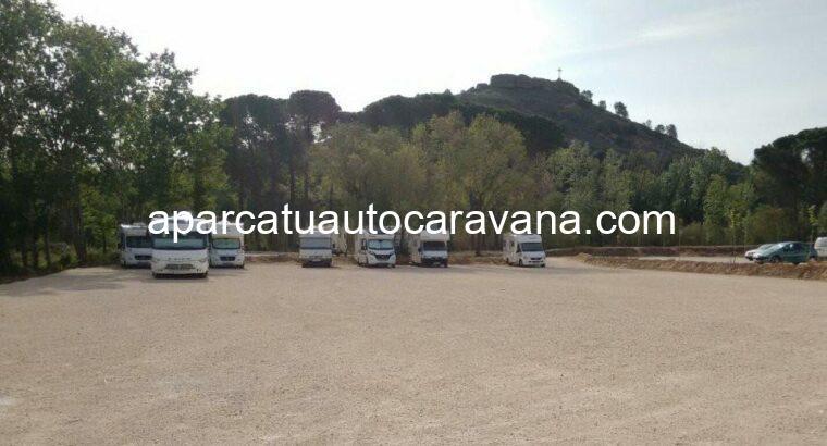 Área autocaravana en Albalate del Arzobispo «Área de Albalate» en, Teruel