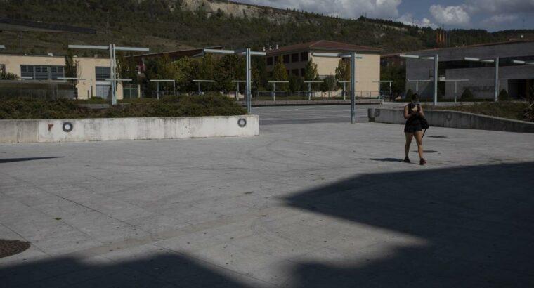 Área autocaravana en Ansoáin «Área de Ansoáin» en, Navarra