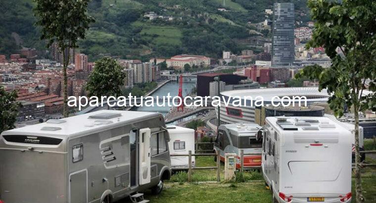 Área autocaravana en Bilbao «Parking Bilbao Hostel» en, Bizkaia