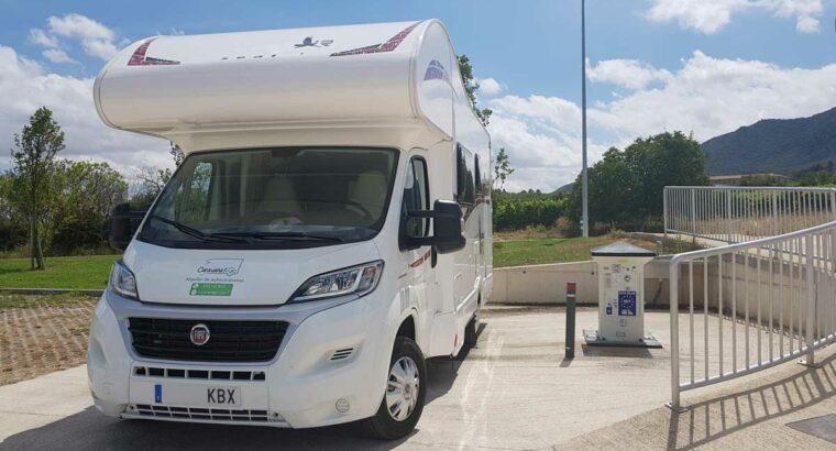 Área autocaravana en Legarda «Área de El Camino» en, Navarra
