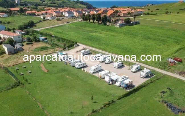 Área autocaravana en Panes «Área de La Atalaya» en, Asturias