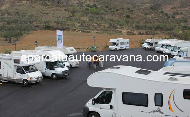 Área autocaravana en Arnedillo «Área de Arnedillo» en, La Rioja