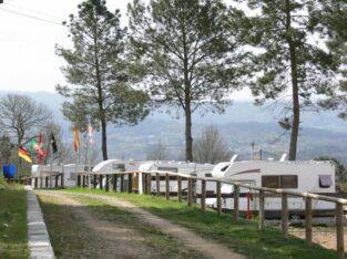 Área autocaravana en Cartelle «Área de O Mundil» en, Ourense