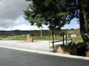 Área autocaravana en Baños de Río Tobía «Área de Baños de Río Tobía» en, La Rioja