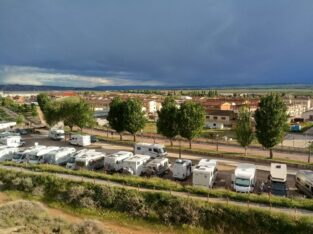 Área autocaravana en Fontellas «Área de Artajo» en, Navarra