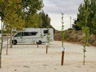 Área autocaravana en Belchite «Parking para Autocaravanas de Belchite» en, Zaragoza