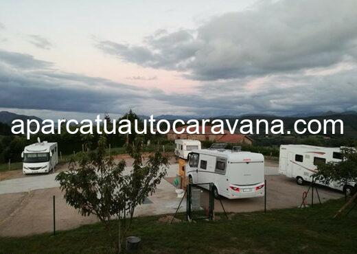 Área autocaravana en Arnuero «Área de Castillo Siete Villas» en, Cantabria