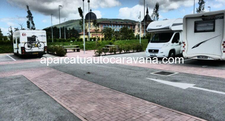 Área autocaravana en Pamplona «Área de Trinitarios» en, Navarra