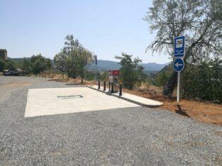 Área autocaravana en Aínsa «Área de Ainsa» en, Huesca