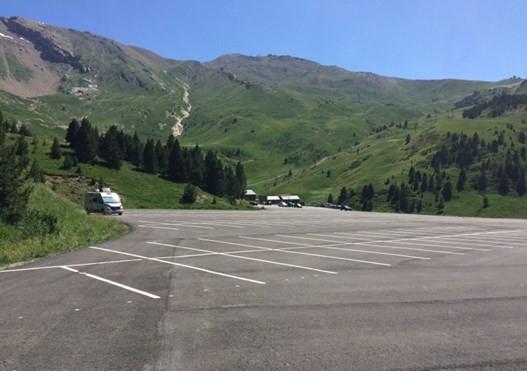 Área autocaravana en Cerler «Parking de Cerler» en, Huesca