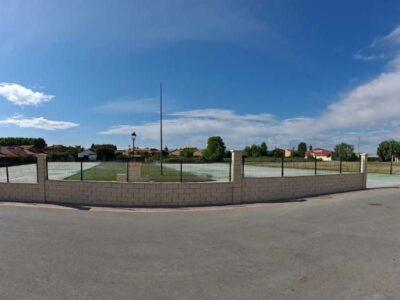 Área autocaravana en Irura «Area del Frontón» en, Gipuzkoa