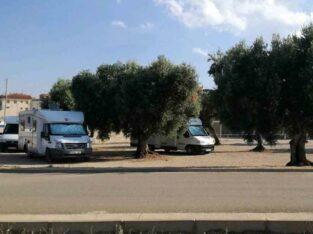 Área autocaravana en Cretas «Área de Cretas» en, Teruel