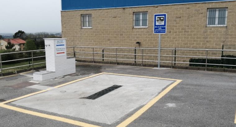 Área autocaravana en Cudillero [Casa Fernando II] «Área de MásyMás-Cudillero» en, Asturias
