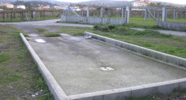 Área autocaravana en Dena «Area de Servicios Dena» en, Pontevedra