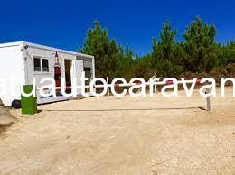 Área autocaravana en San Vicente do Mar «Área de O Faro» en, Pontevedra