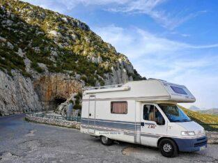 Área autocaravana en Pesoz «Parking de Pesoz» en, Asturias