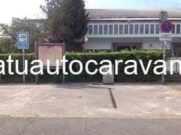 Área autocaravana en Grandas de Salime «Área de Grandas de Salime» en, Asturias