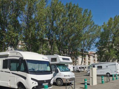 Área autocaravana en Huesca «Área de Huesca» en, Huesca