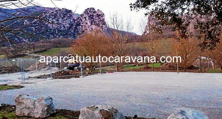 Área autocaravana en Irurtzun «Área de Irurtzun» en, Navarra