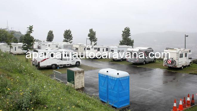 Área autocaravana en Bilbao «Área de Kobetamendi» en, Bizkaia