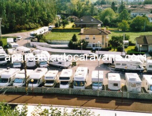 Área autocaravana en Liérganes «Área de Liérganes» en, Cantabria