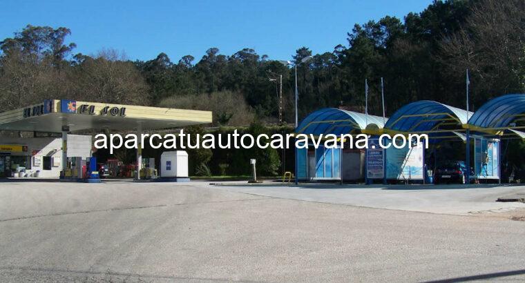 Área autocaravana en Mos «Área de El Sol» en, Pontevedra