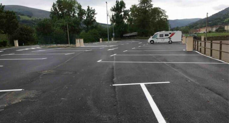 Área autocaravana en Ontaneda «Área de Ontaneda» en, Cantabria