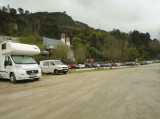 Área autocaravana en San Xoán de Río «Área de San Xoán de Río» en, Ourense