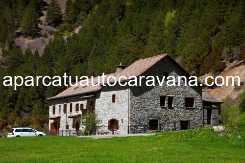 Área autocaravana en Torla-Ordesa «Área Refugio de Bujaruelo» en, Huesca