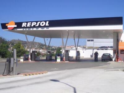Área autocaravana en Ourense «Área de Reza» en, Ourense